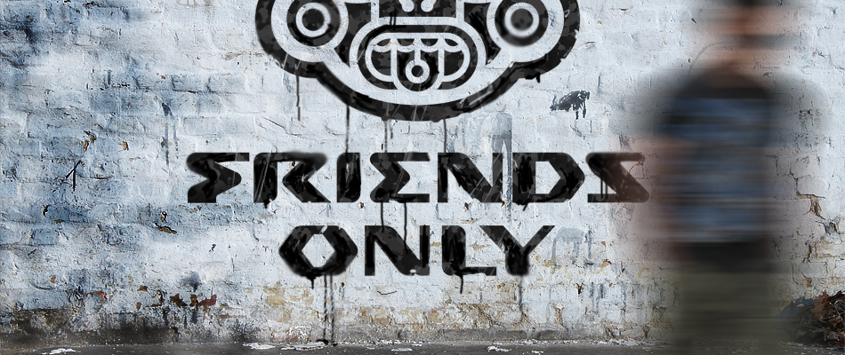 заставка Friends Only